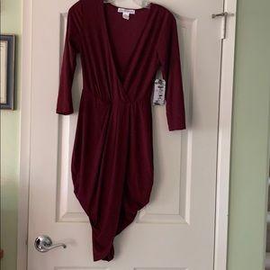 Brand new Burgundy Dress